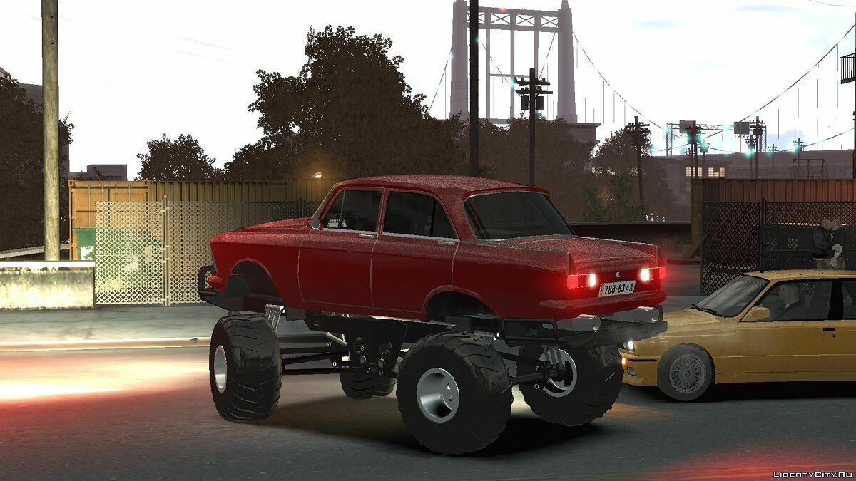 Москвич Moskvich-412 Monster для GTA 4
