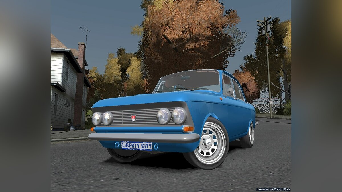 ��осквич AZLK408 [new_wheels] для GTA 4