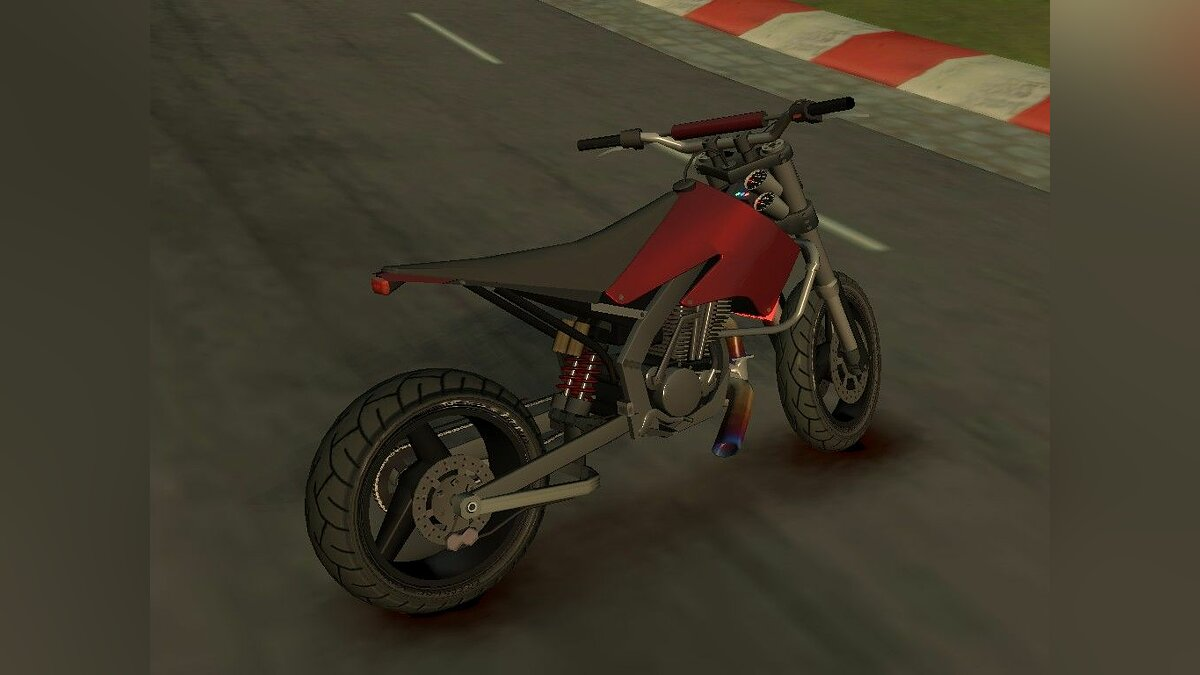 Sanchez Supermoto Turbo [Final] для GTA 4