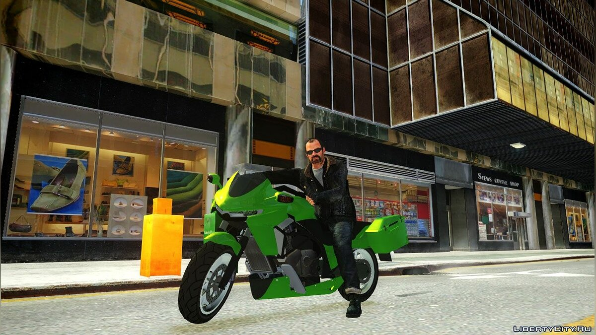 GTA V Thrust Bike для GTA 4