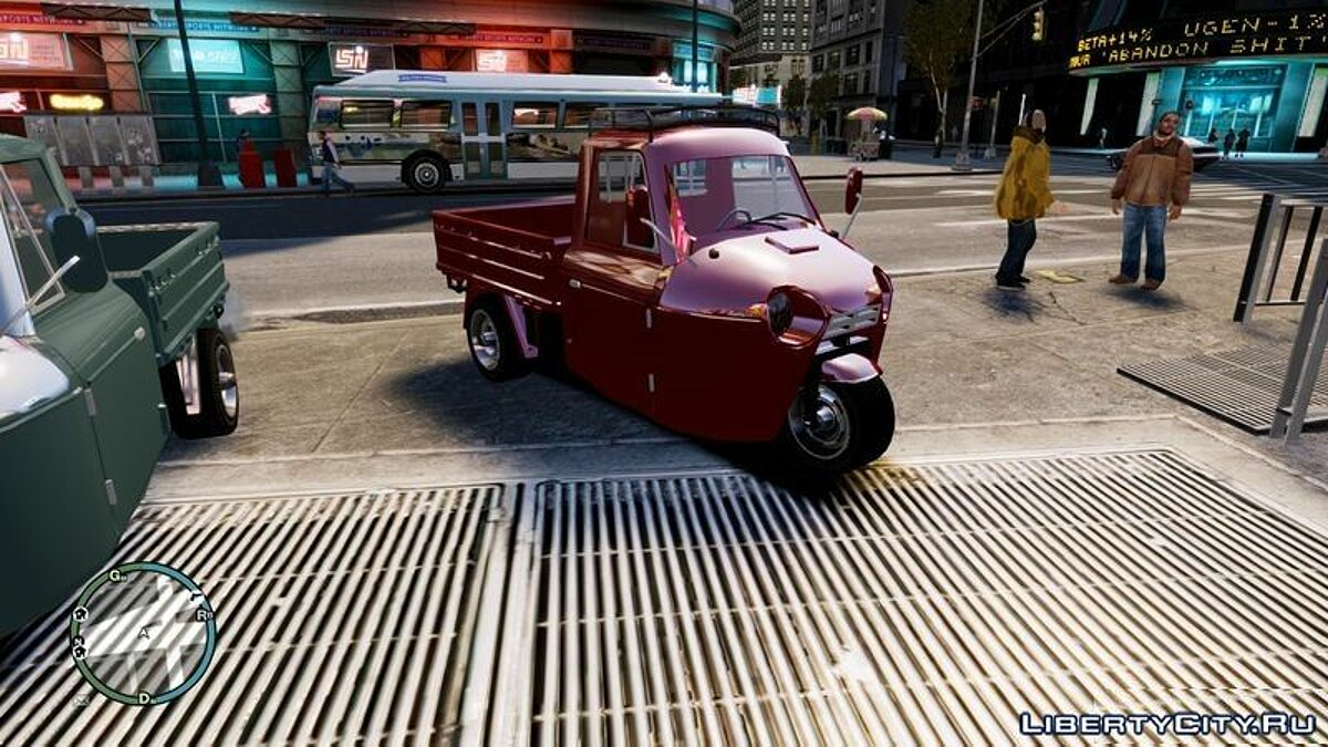 Мотоцикл APE Tricycle для GTA 4