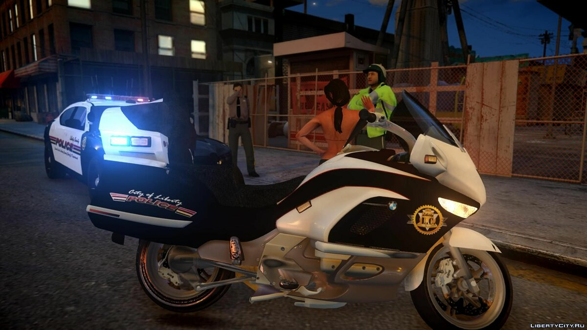 [ELS] Police Bike/Motorcycle для GTA 4 - скриншот #3