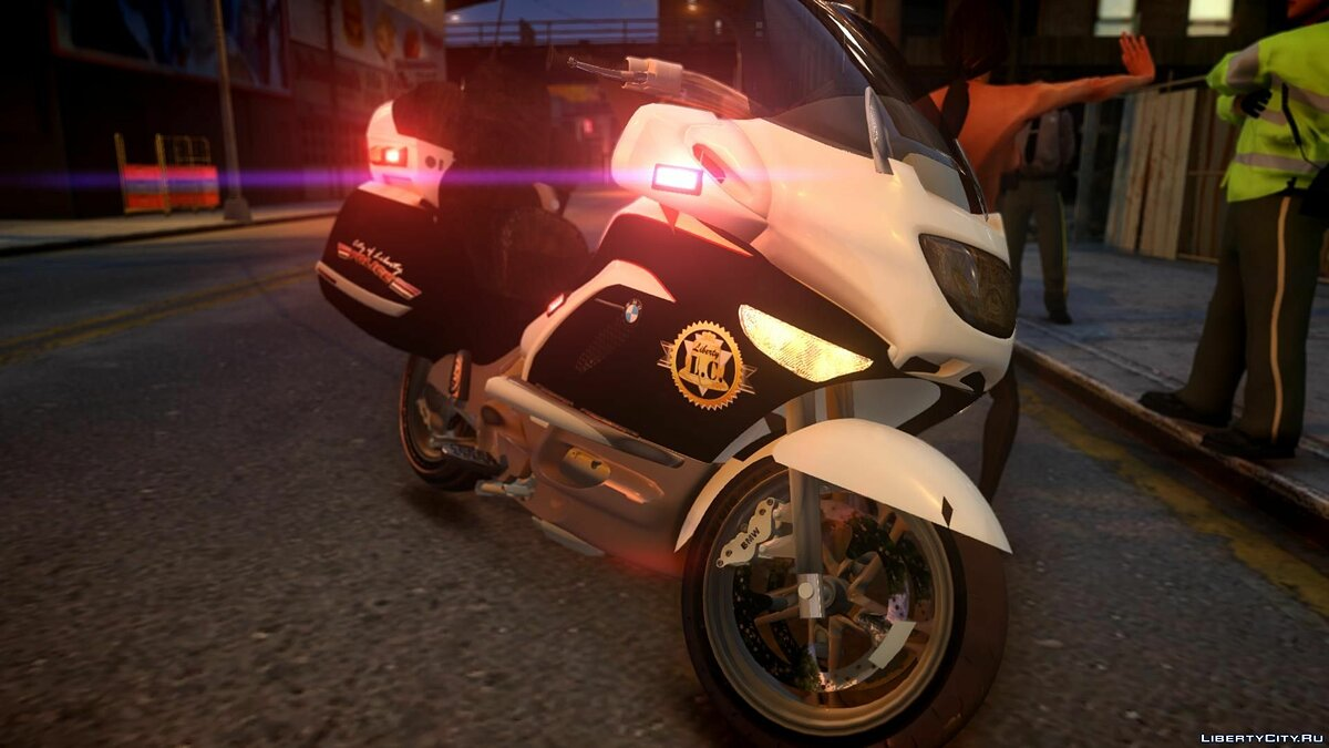 [ELS] Police Bike/Motorcycle для GTA 4