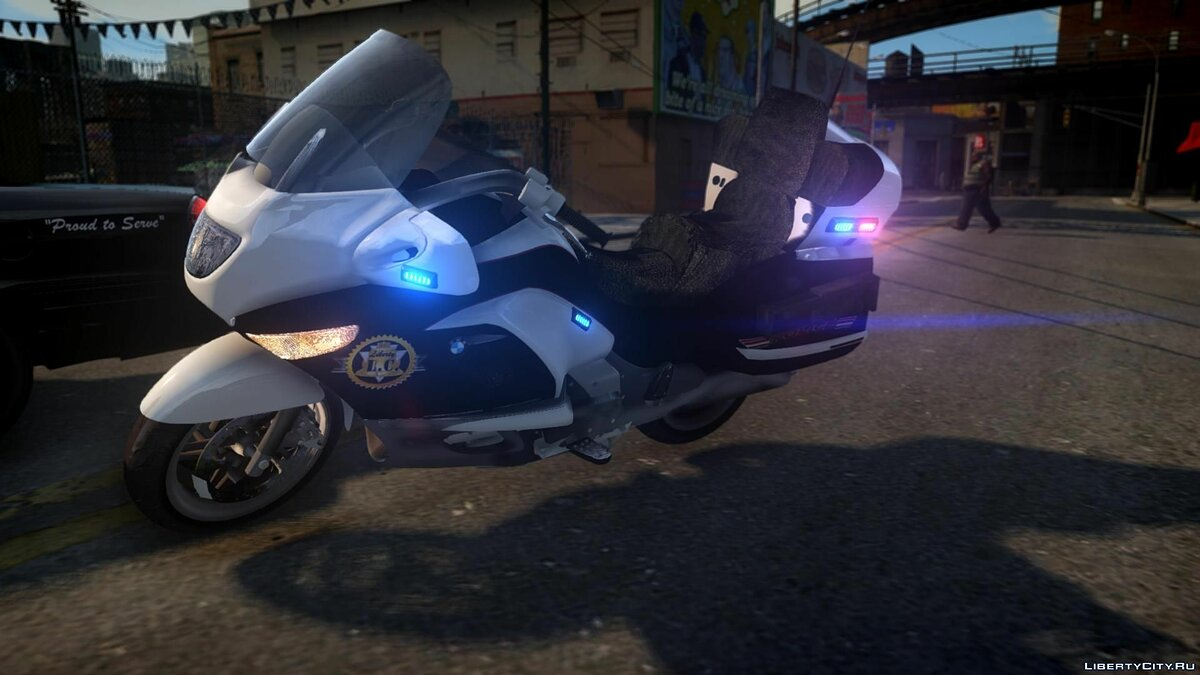 [ELS] Police Bike/Motorcycle для GTA 4 - скриншот #4