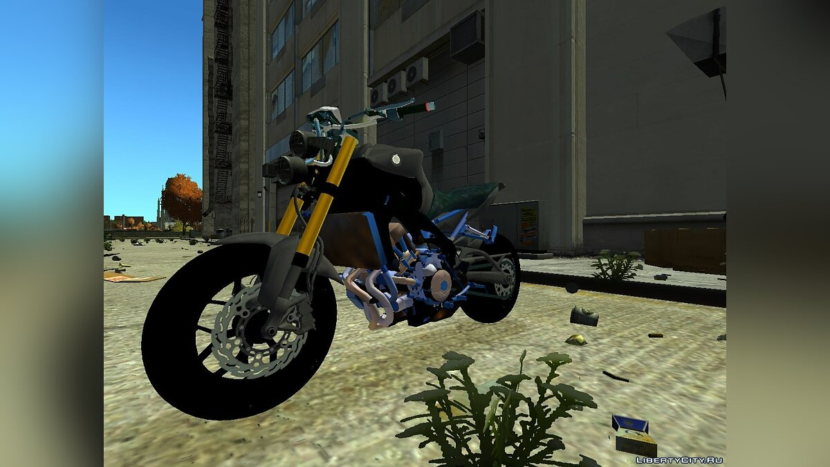 Yamaha Carbon Edition для GTA 4