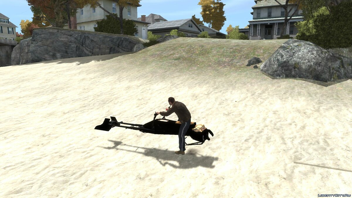 Мотоцикл Star Wars Speeder Bike v2.0 для GTA 4