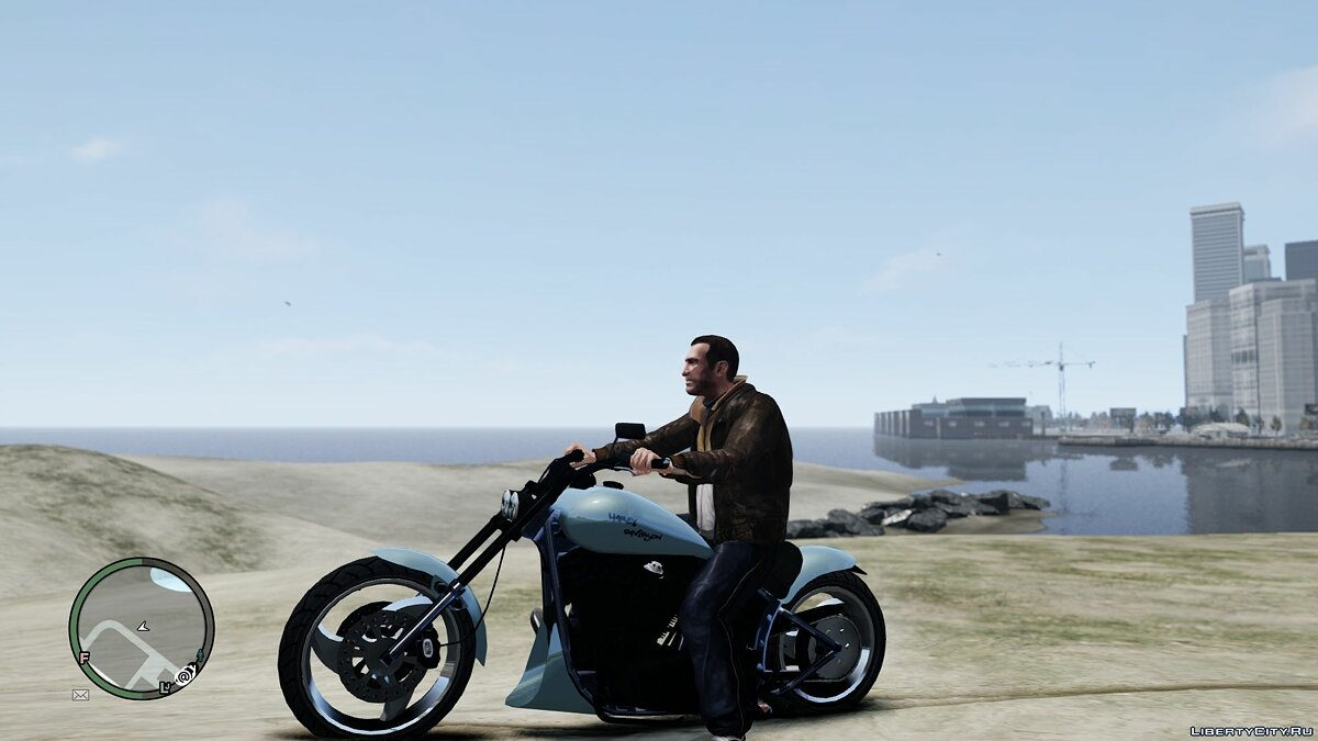 Bobber Mix and Faggio Wheel Mod для GTA 4