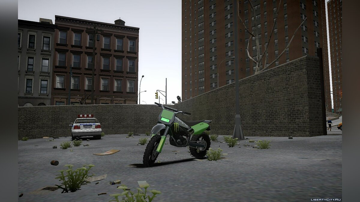 Monster Energy Sanchez для GTA 4