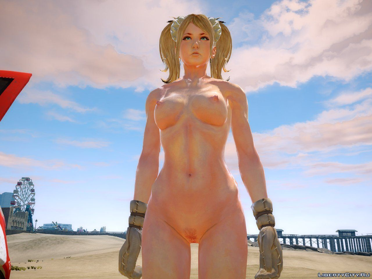 a sexy naked girl from gta