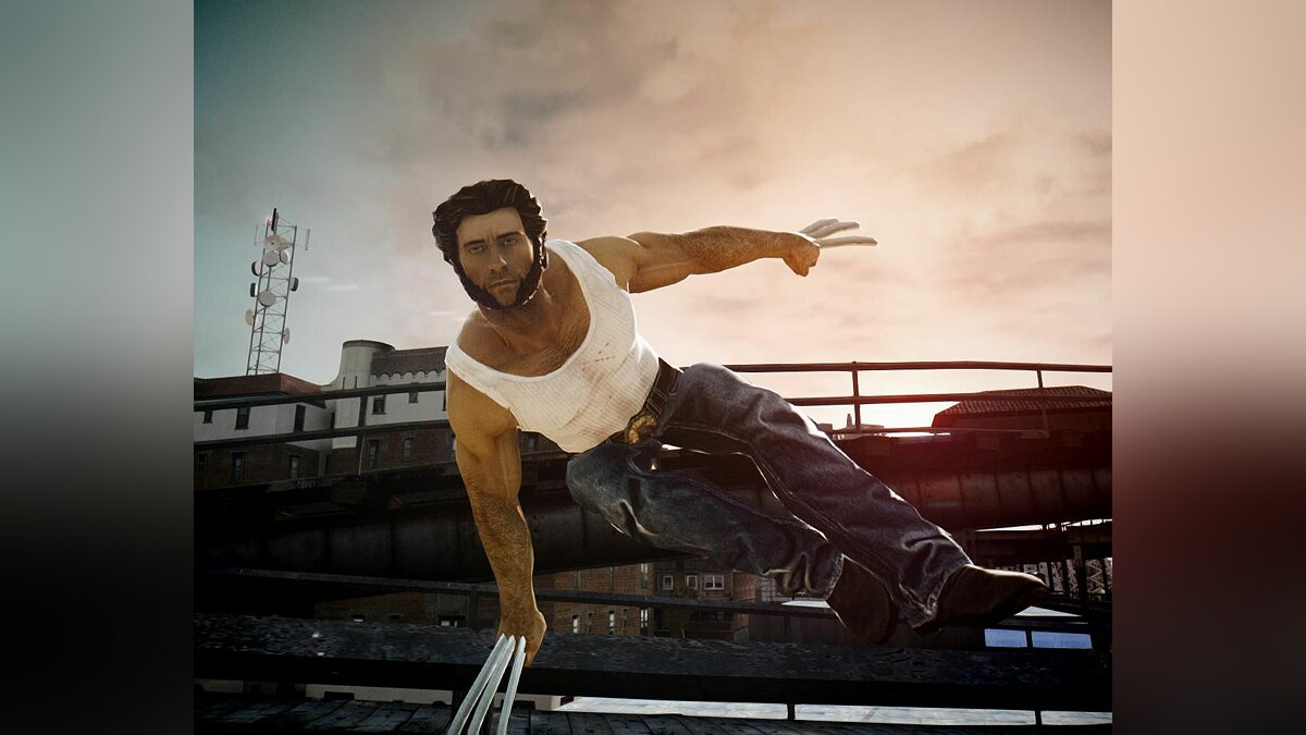 X-Men Origins: Wolverine для GTA 4