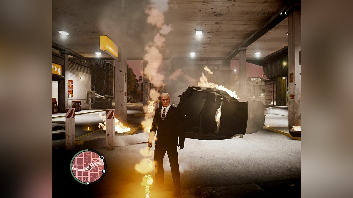 Hitman Blood Money для GTA 4