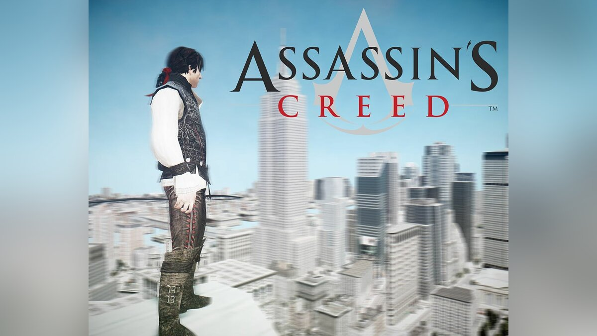 Assassin's Creed Young Ezio FR для GTA 4