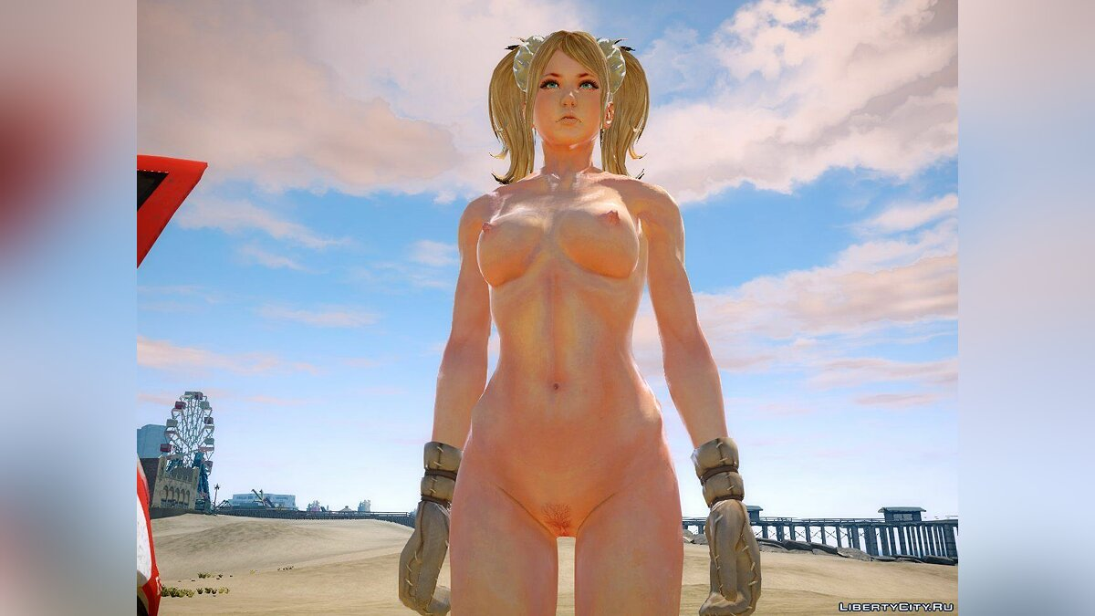 Juliet Starling Nude 18+ для GTA 4 - скриншот #3