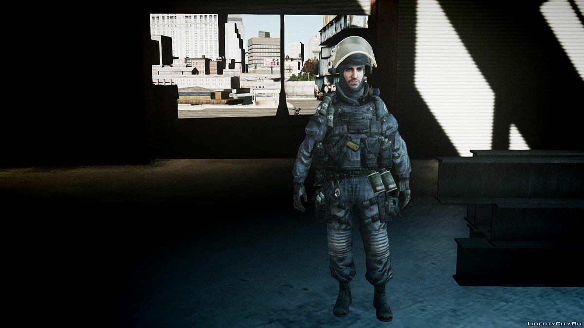 Modern Warfare 3 Gign Pack для GTA 4