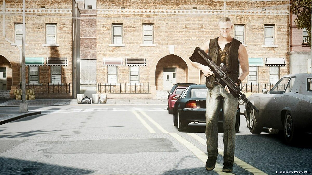 The Walking Dead Merle Dixon для GTA 4
