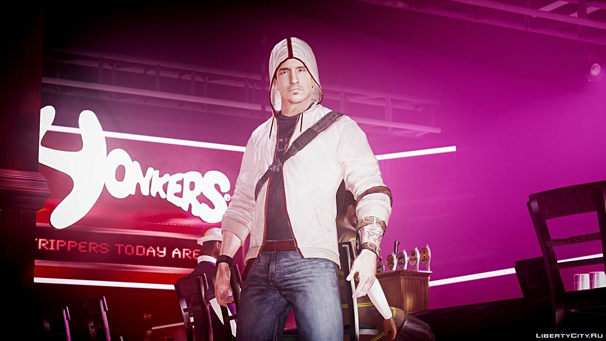 Assassin's Creed 3 Desmond Miles (Hood Up) для GTA 4
