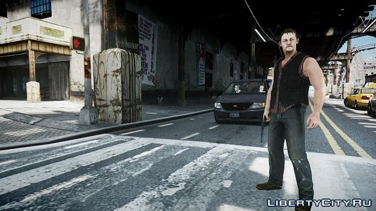 The Walking Dead Daryl Dixon для GTA 4 - скриншот #4