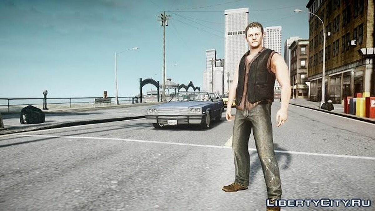 The Walking Dead Daryl Dixon для GTA 4