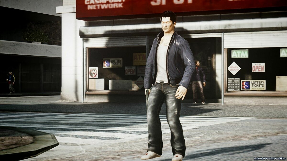 Wei Shen из Sleeping Dogs для GTA 4