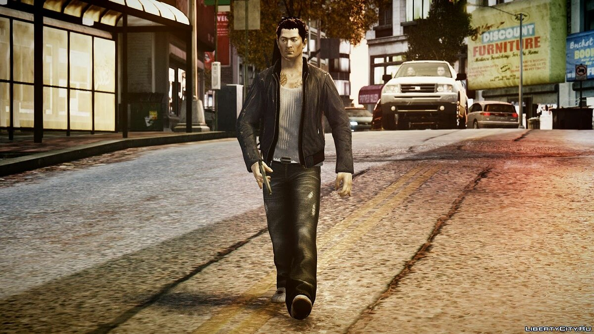 Wei Shen из Sleeping Dogs для GTA 4 - скриншот #5