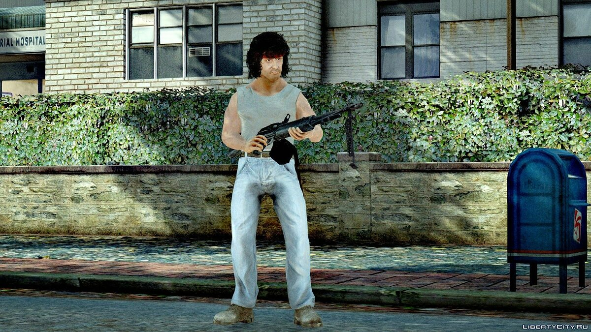 Rambo: The Video Game character Pack для GTA 4 - скриншот #3