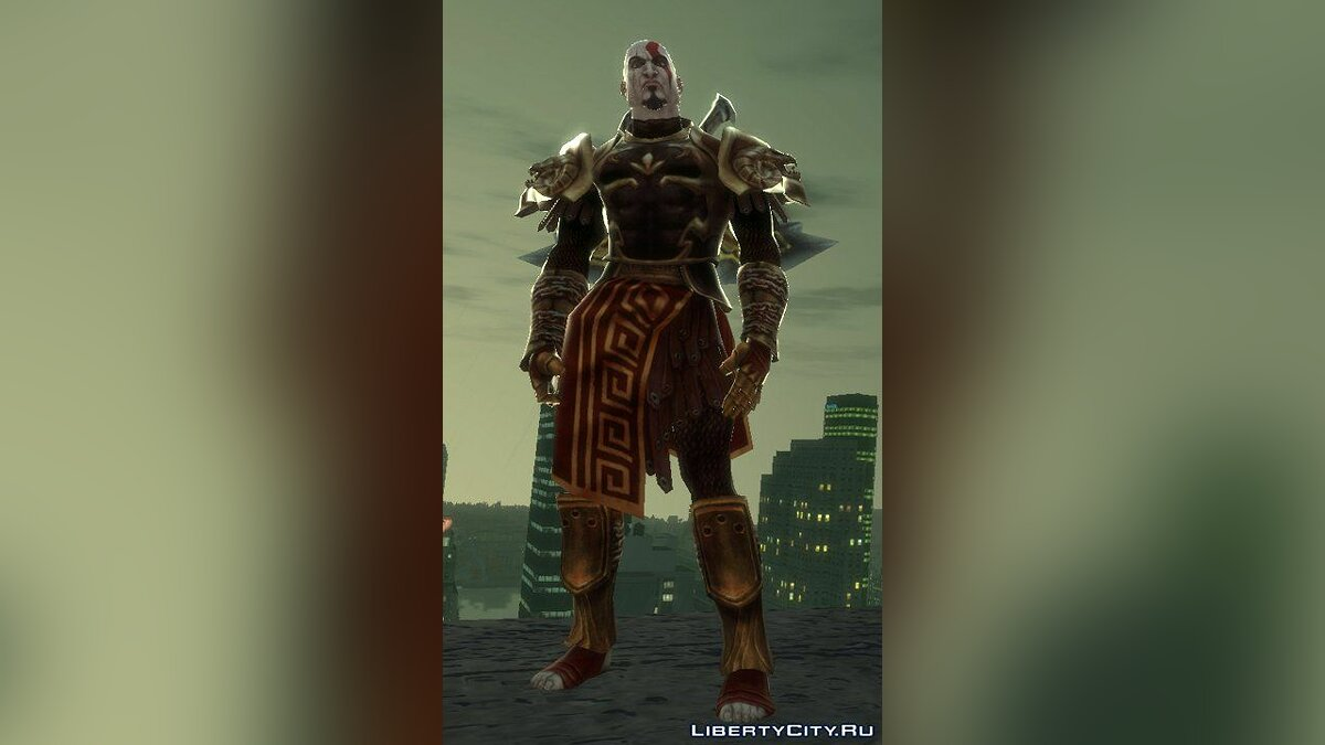 Kratos God Armor [IV] для GTA 4
