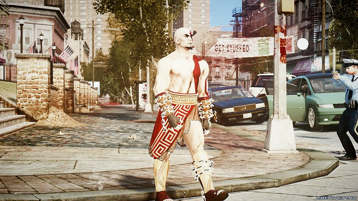 God Of War Kratos для GTA 4 - скриншот #3