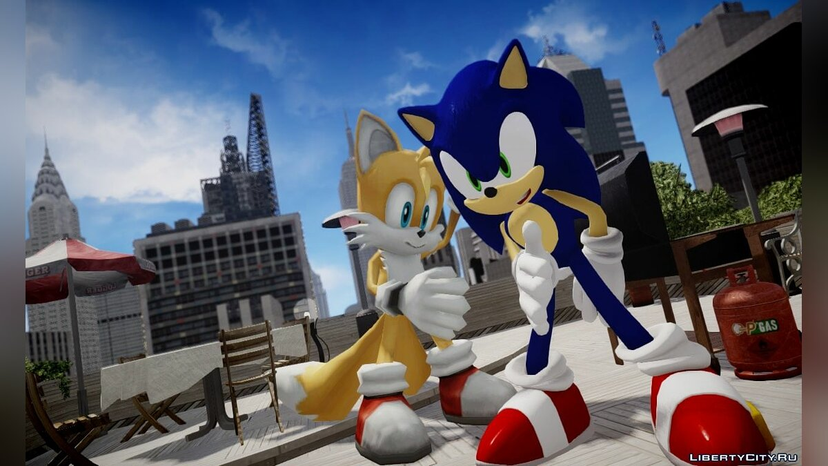 Sonic the Hedgehog Pack (RAGE edition) для GTA 4