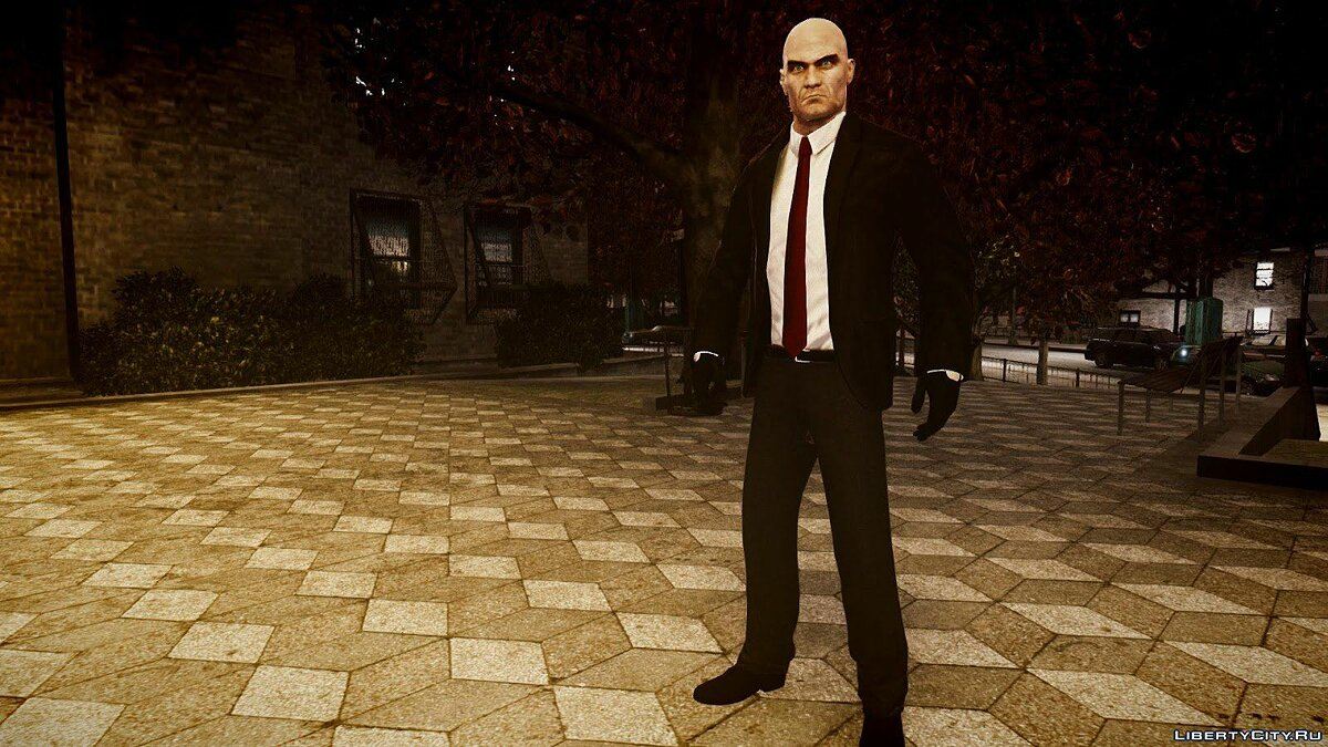 Hitman Absolution Pack для GTA 4