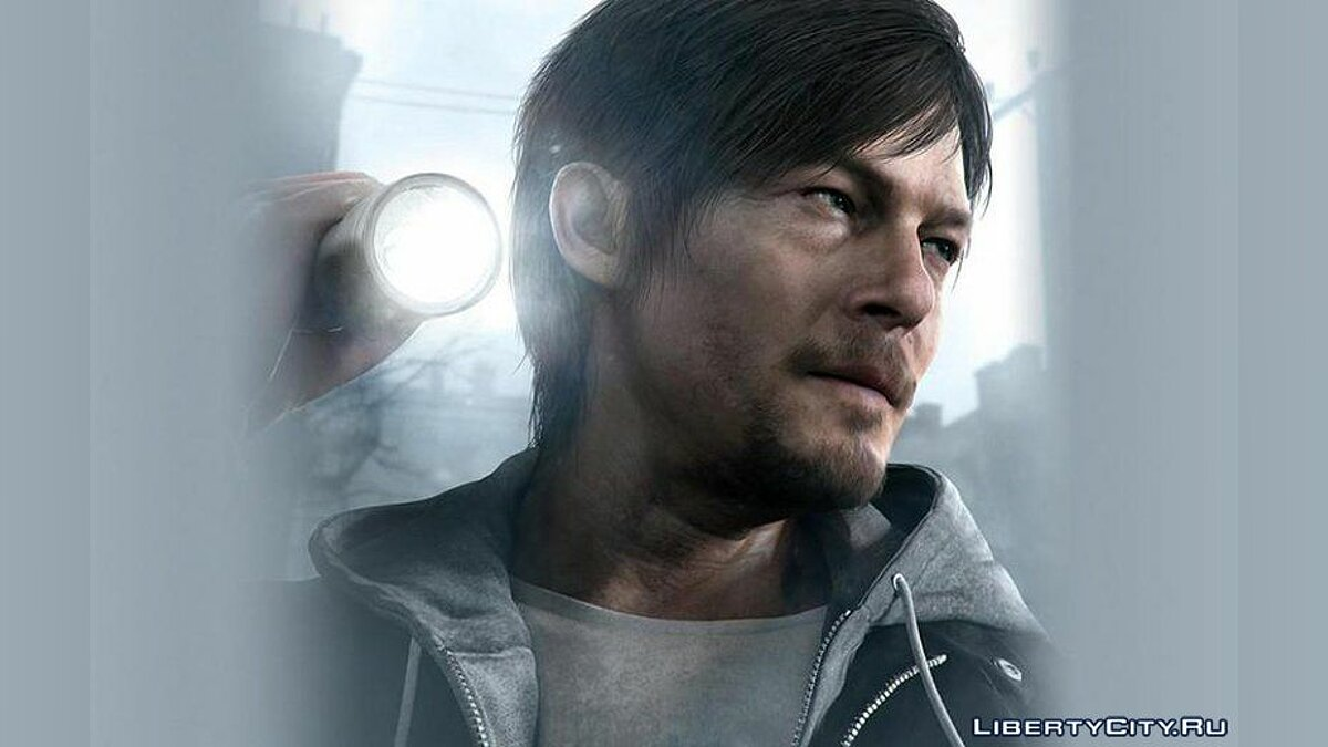 Norman Reedus PS4 [PED] для GTA 4