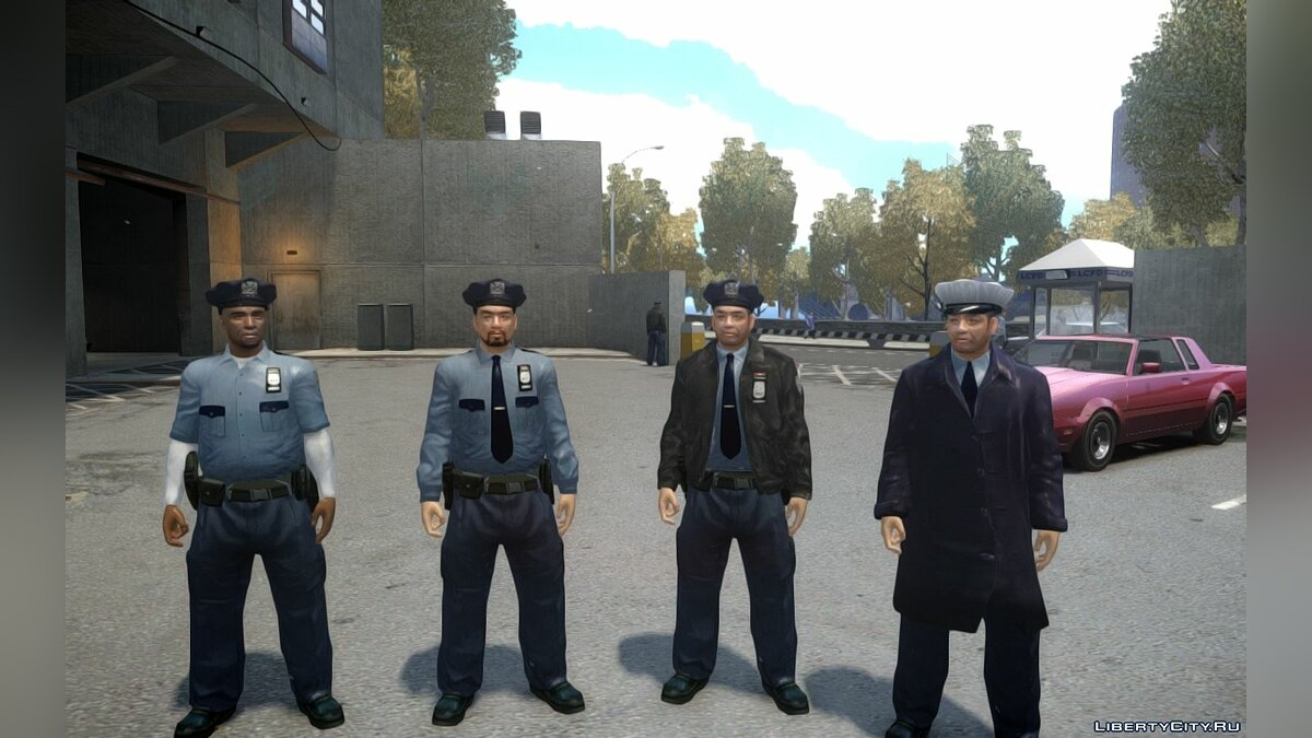 Raccoon Police Department Officers для GTA 4