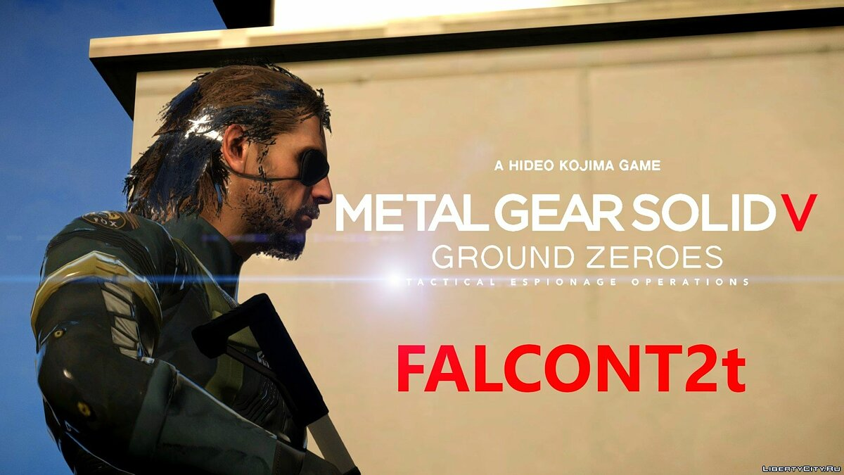 Metal Gear Solid V - Ground Zeroes - Big Boss для GTA 4