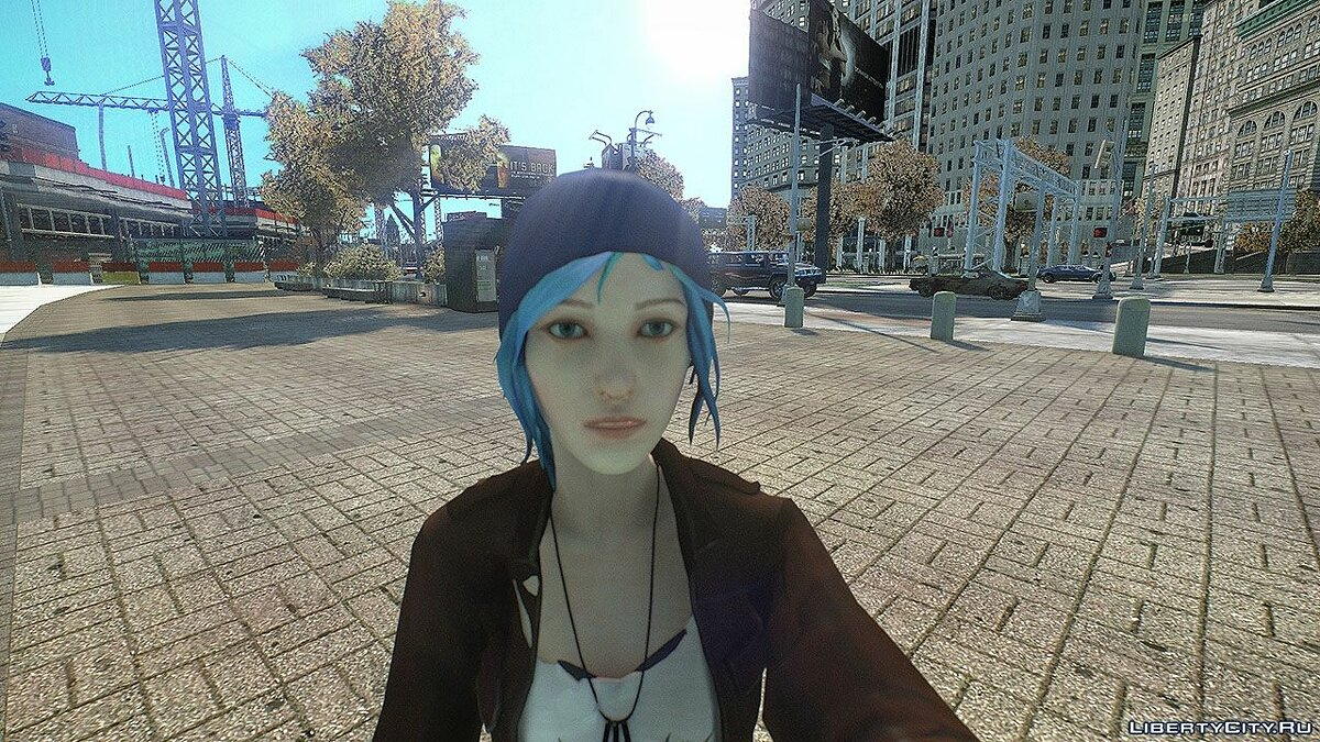 Chloe from Life is Strange для GTA 4