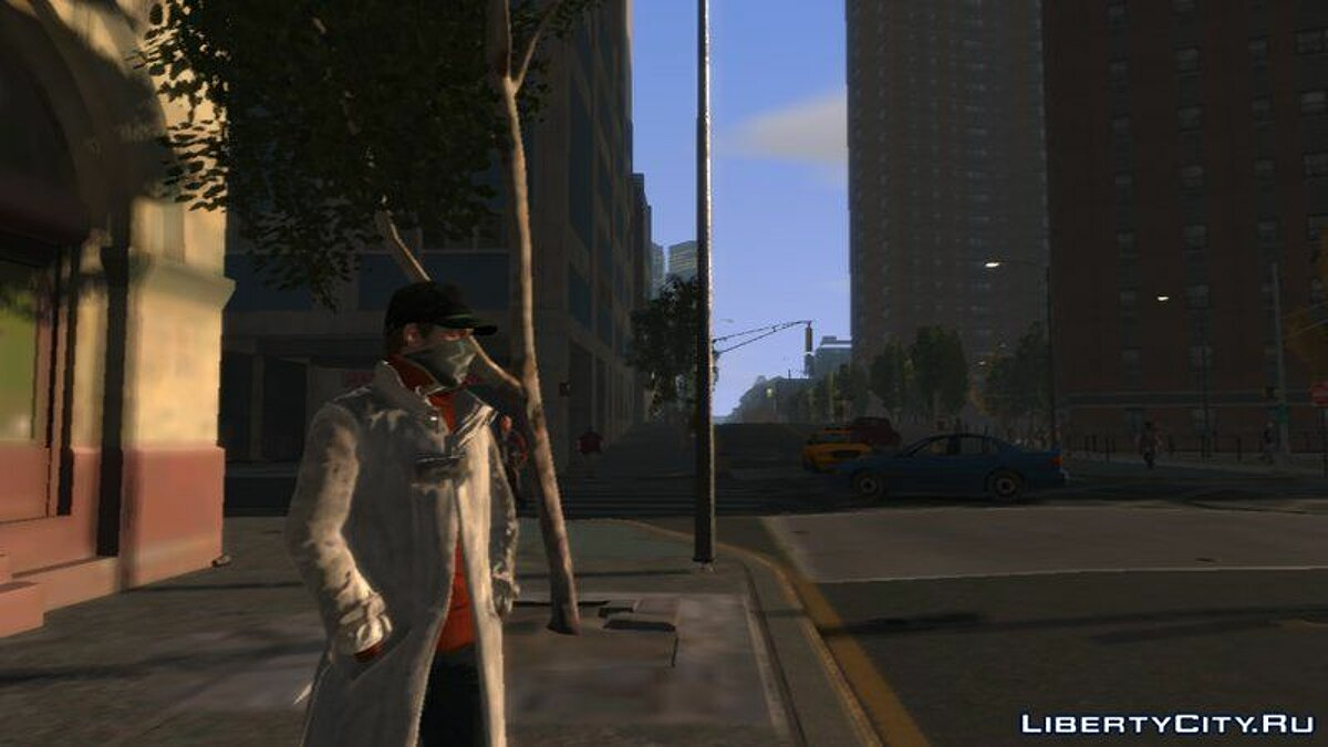 [PED] Aiden Pearce from WATCH_DOGS UPDATED для GTA 4 - скриншот #4