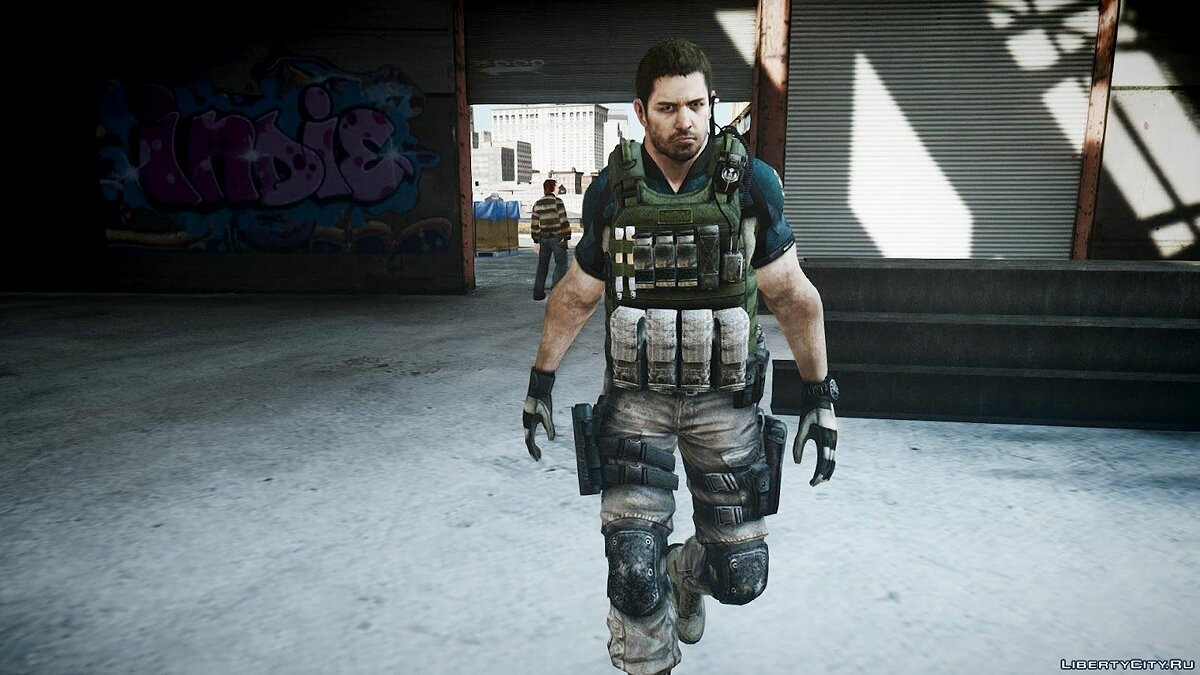 Resident Evil 6 Chris Redfield для GTA 4