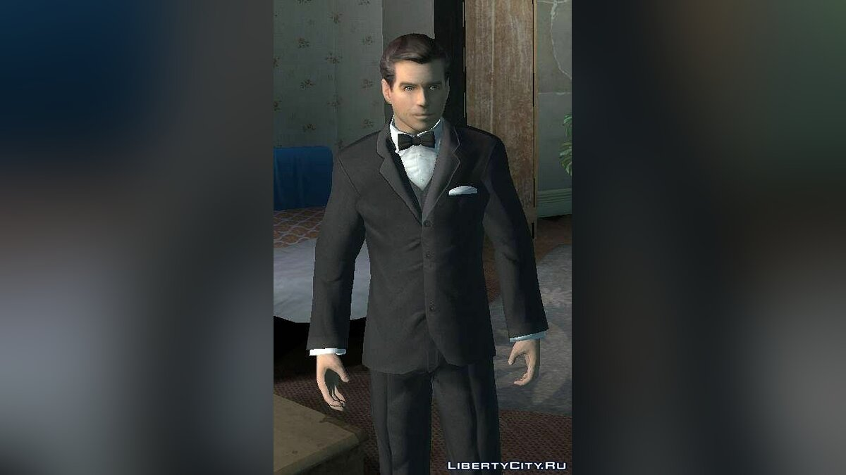 James Bond from 007 Nightfire для GTA 4