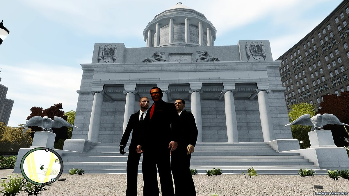 ��овый объект White House Mod President Barack Obama Version для GTA 4