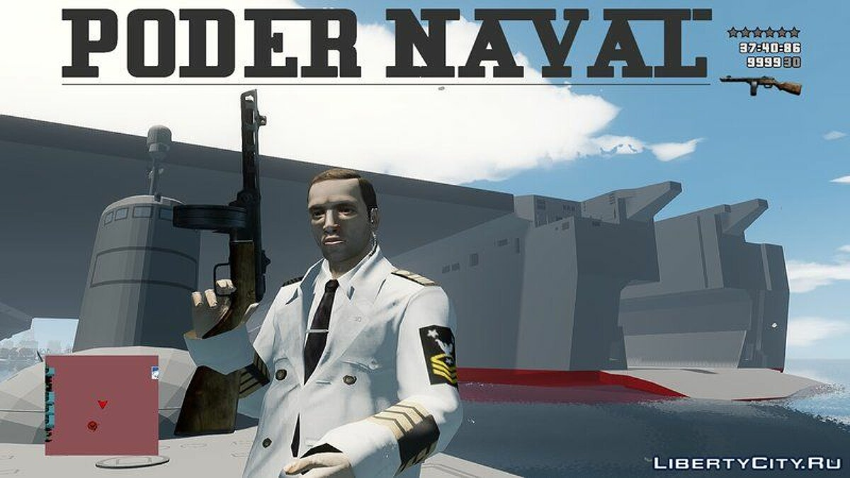 Новый объект Poder Naval Navy Power для GTA 4