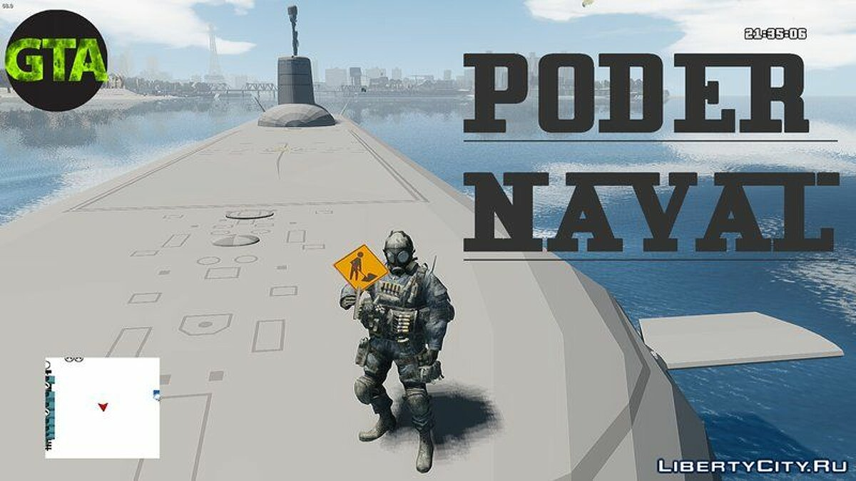 ��овый объект Poder Naval Navy Power для GTA 4