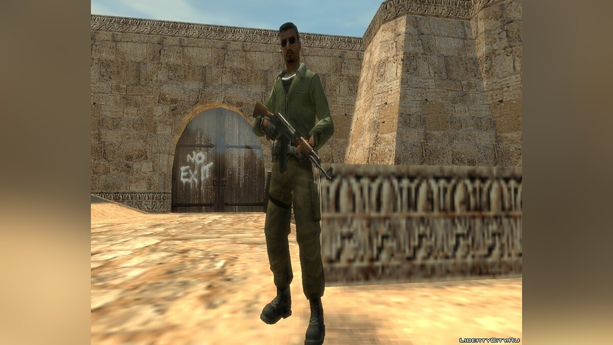 Counter-Strike De_Dust2 GTA4 для GTA 4