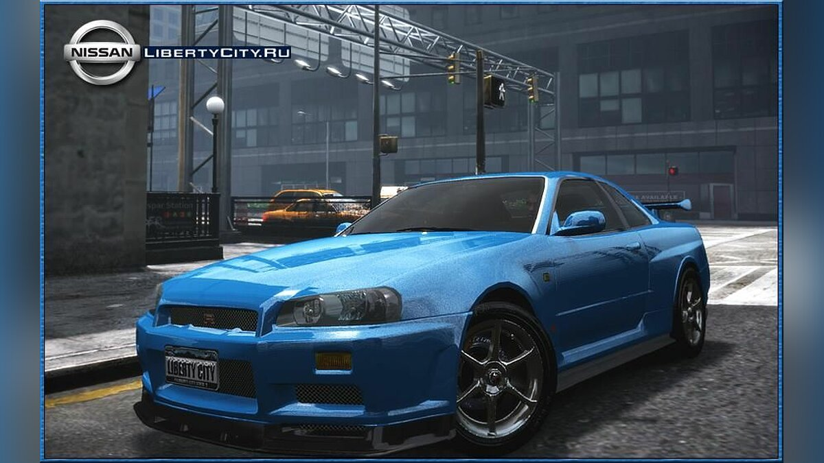 Nissan SkyLine R34 Nismo Vspec by Crime для GTA 4 - Картинка #1