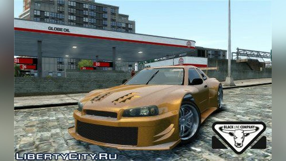 Nissan skyline R34 Tuned Shift для GTA 4 - Картинка #1