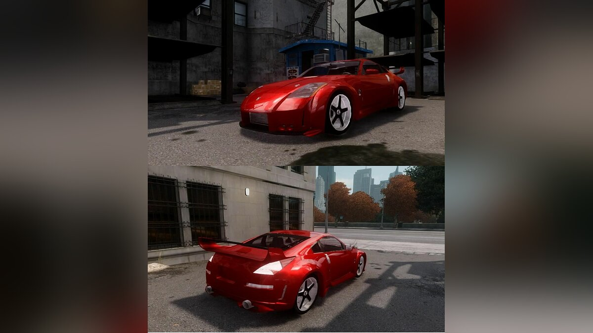 "Nissan 350z ""Fast And Furious"" для GTA 4"