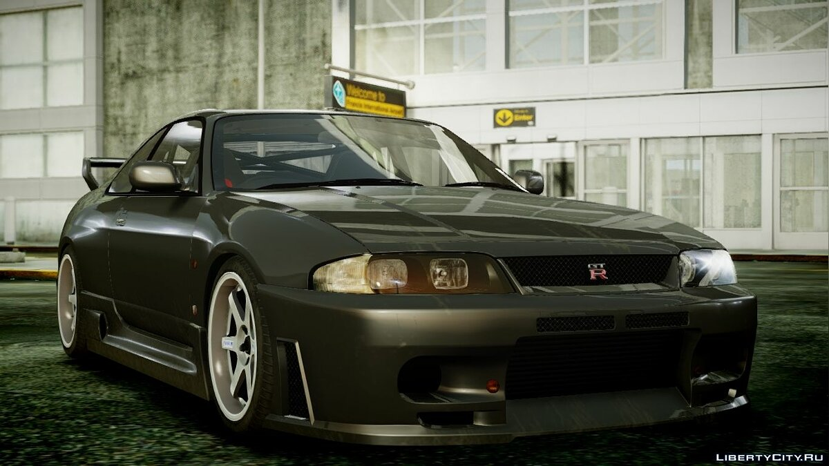 1995 Nissan Skyline BCNR33 (JUN VER) V2.0 для GTA 4 - скриншот #2