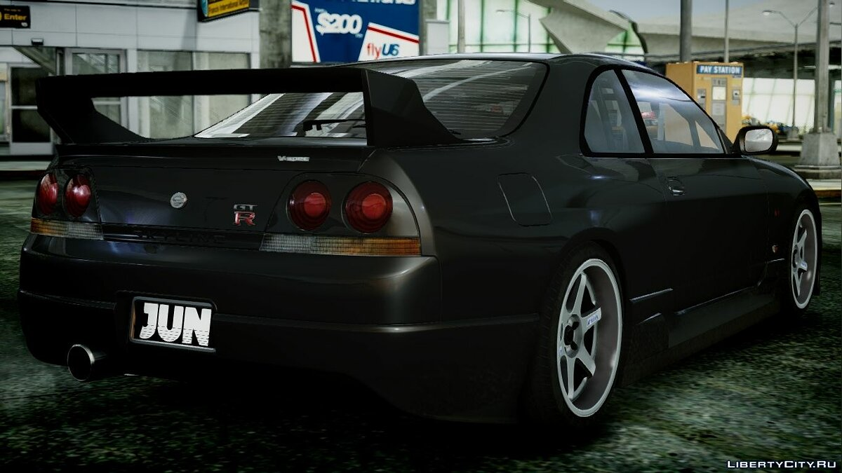 1995 Nissan Skyline BCNR33 (JUN VER) V2.0 для GTA 4 - скриншот #4