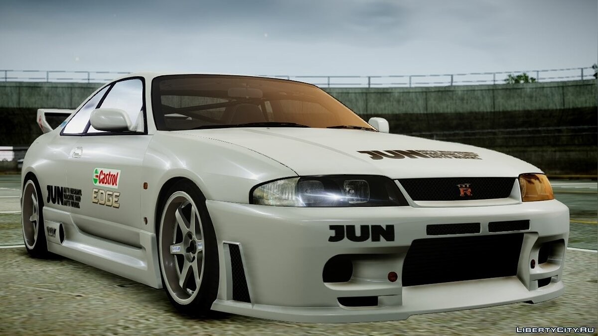 1995 Nissan Skyline BCNR33 (JUN VER) V2.0 для GTA 4