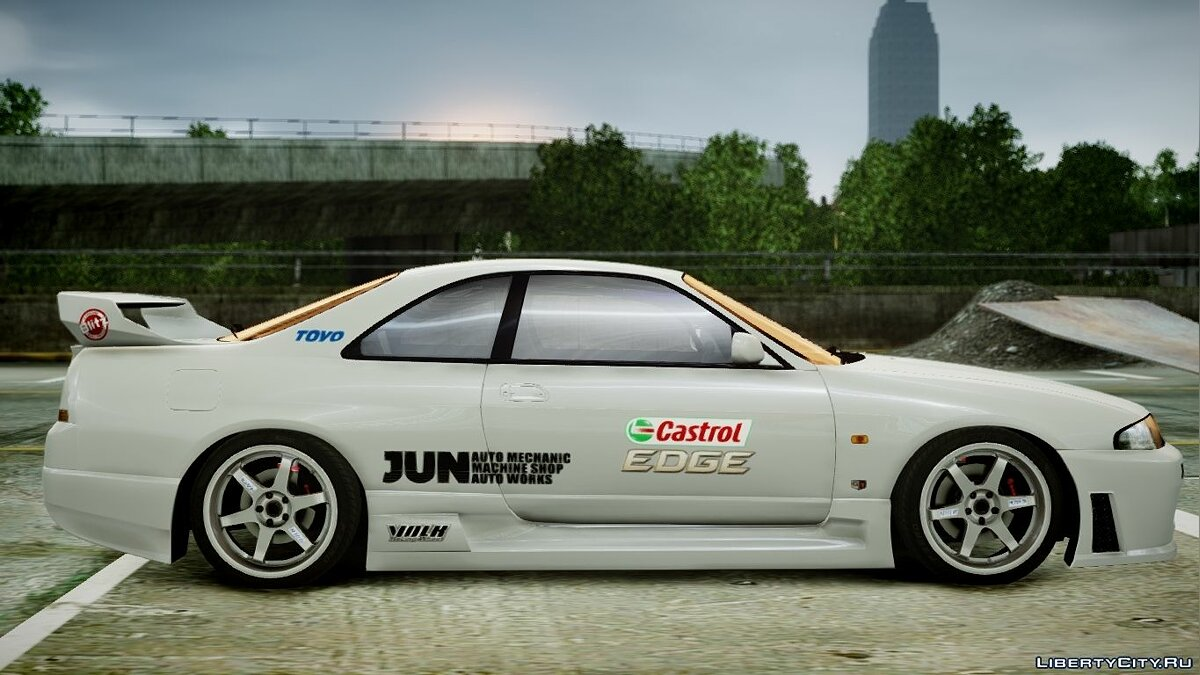 1995 Nissan Skyline BCNR33 (JUN VER) V2.0 для GTA 4 - скриншот #6