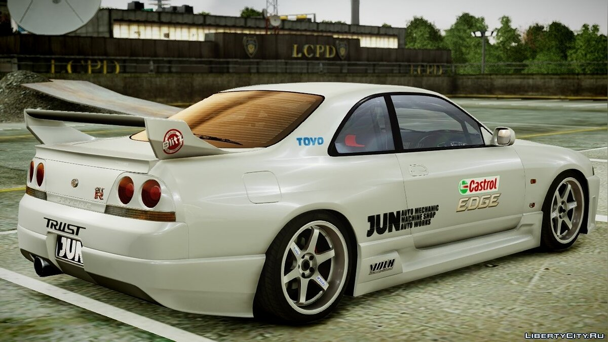 1995 Nissan Skyline BCNR33 (JUN VER) V2.0 для GTA 4 - скриншот #7