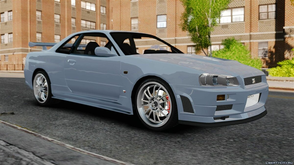 Nissan Skyline GT-R R34 Fast and Furious 4 для GTA 4