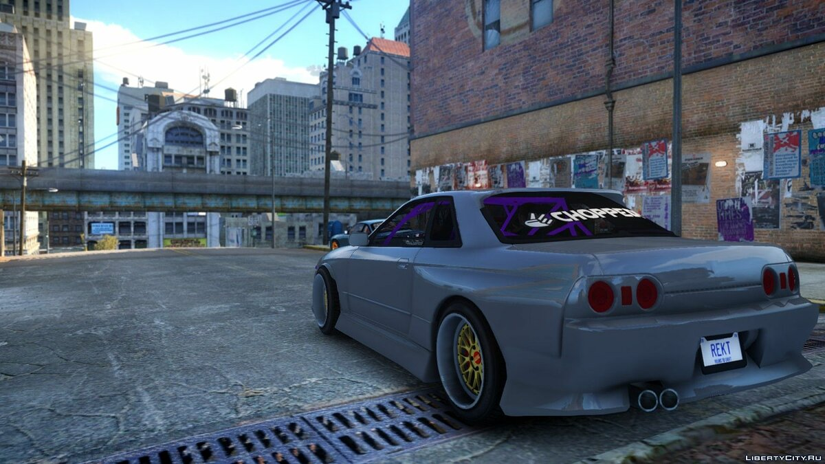 Nissan R32 GTR Origin Kit для GTA 4 - скриншот #3